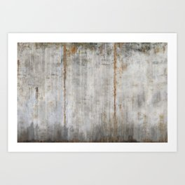 Concrete Wall Art Print