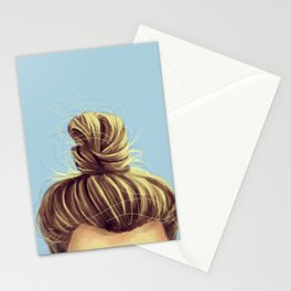Perfect Man Bun Stationery Cards
