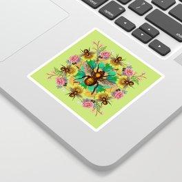 Bee Mandala Sticker