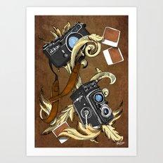 Photographie Pattern Art Print