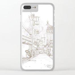 Beijing.China.Nianzi hutong 碾子胡同 Clear iPhone Case