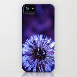 Violet Dandelion iPhone Case