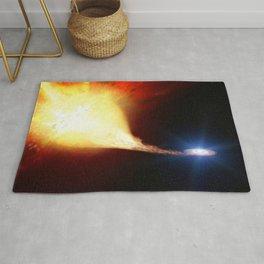 Explosive supernova Rug