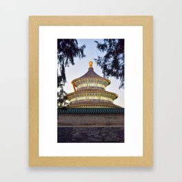 Temple of Heaven Framed Art Print