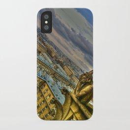 Gargoyle of the Notre Dame, Paris, France iPhone Case