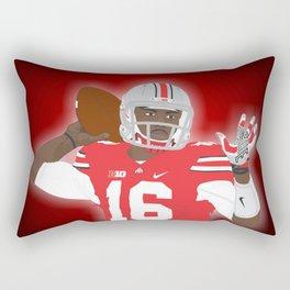 Ohio State Buckeyes - JT Barrett - 2016 Rectangular Pillow