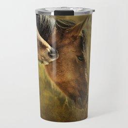 Horsing Around No. 2 - Pryor Mustangs Travel Mug
