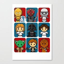 Force Family Canvas Print