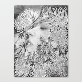Apiphobia - Fear of Bees Canvas Print