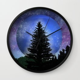 Neptune Forest Wall Clock
