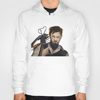 daryl dixon Hoodies featuring Daryl by Brittany Ketcham