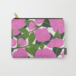 PINK WINTER CAMELLIA I Carry-All Pouch