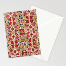 Spanish Flowers Stationery Cards