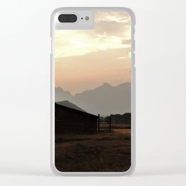 Spirit of the West Clear iPhone Case