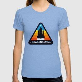 NASA Space Shuttle Badge T-shirt