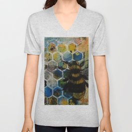 Bee Kind to One Another Unisex V-Neck