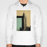 ben giles Hoodies featuring Big Ben by sinonelineman