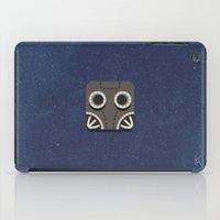 steam punk iPad Cases featuring Steam Punk Mask by Nick Kumbari