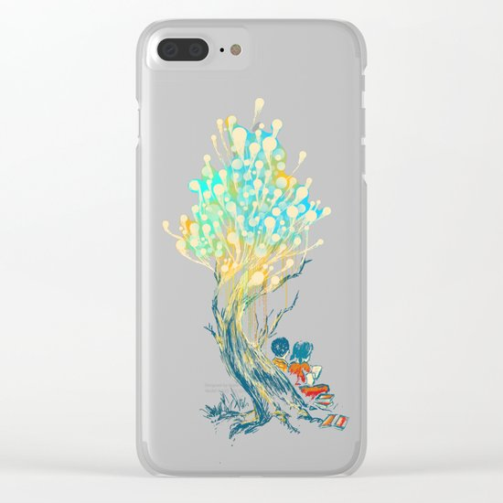 ElectriciTree Clear iPhone Case