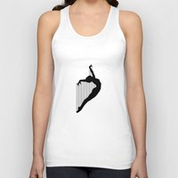 sia Tank Tops featuring Harp by Kristijan D.