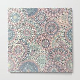 Mandala (Floral 002) Metal Print