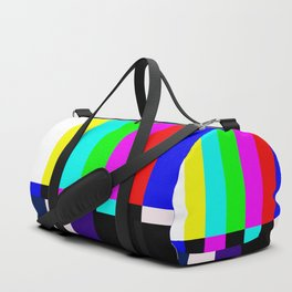 No Signal TV Duffle Bag