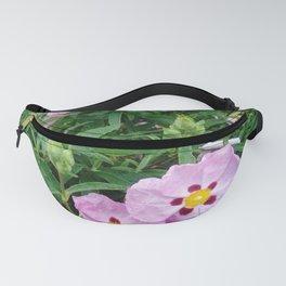 Purple flowers 3 Fanny Pack