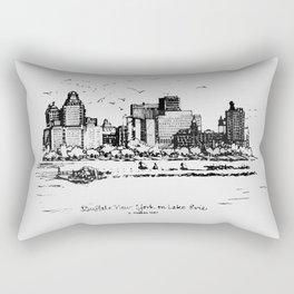 Buffalo By AM&A's 1987 Rectangular Pillow