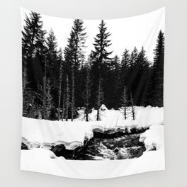 St. Helens Snowshoe + River Wall Tapestry