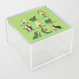 Avocado Yoga Acrylic Box