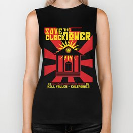 Clocktower Propaganda Biker Tank