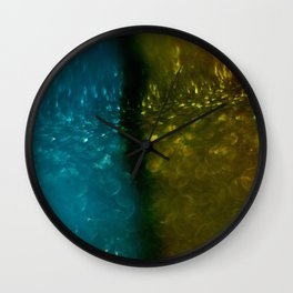 Light Drips III Wall Clock