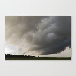 Wall Cloud 2 Canvas Print
