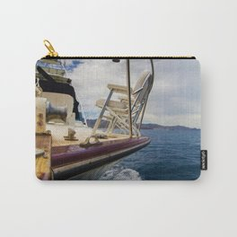 Yacht Sailing at Sea Carry-All Pouch