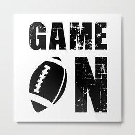 Football Sports USA Team Game American Funny Gift Metal Print