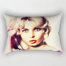 Brigitte Bardot, Vintage Actress Rectangular Pillow