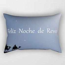 Holiday Christmas The Three Wise Men Night Star Ca Rectangular Pillow