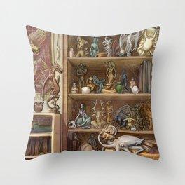 Chimaera Shelf Throw Pillow