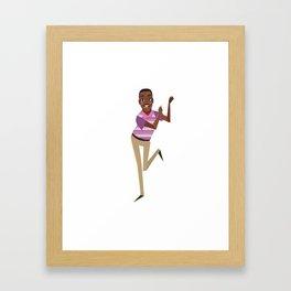 Carlton Framed Art Print