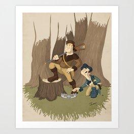 Great Frontier Art Print