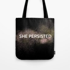 She Persisted - Gold Dust Tote Bag