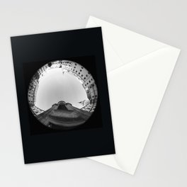 The spiral staircase in the Renaissance castle Hartenfels in Torgau / Saxony 7 Stationery Cards
