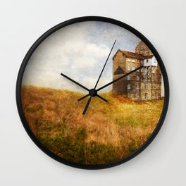 Old Cotton Mill Wall Clock