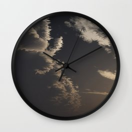 Approaching Front (Cloud series #7) Wall Clock