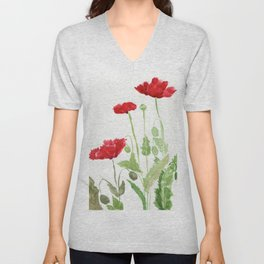 Blooms and Buds Unisex V-Neck
