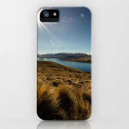 Lake Tekapo iPhone Case