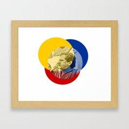 Galán Shouts of Glory Framed Art Print