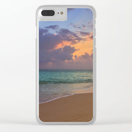Needle in the bay Clear iPhone Case