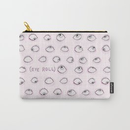 Eye Roll Carry-All Pouch
