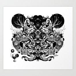 Scorn Pourer Art Print